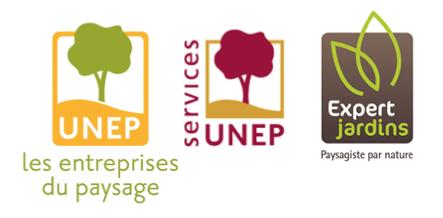 Les entreprises du paysage marque logo et signature de for Entreprise du paysage